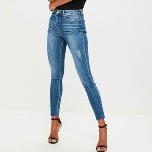 Misguided Jeans Size 4